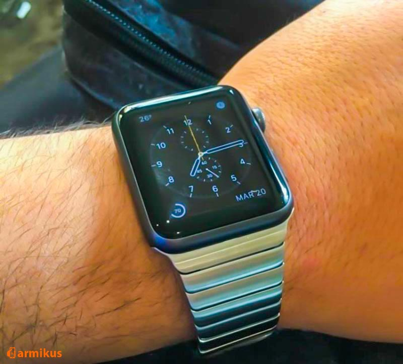 Apple watch aproce braslet metal stanless steel 14